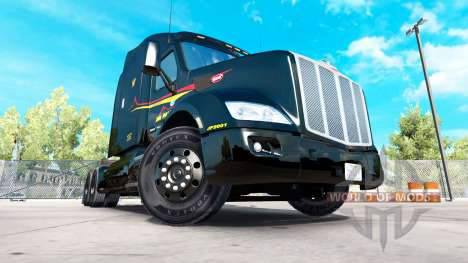 Jim Palmer skin for the truck Peterbilt for American Truck Simulator