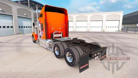 Skin American truck Kenworth W900 for American Truck Simulator