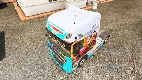 Skin Cars v2.0 truck DAF for Euro Truck Simulator 2