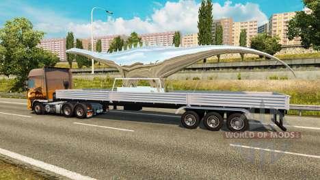 Trailer Statue of Dinosaur for Euro Truck Simulator 2
