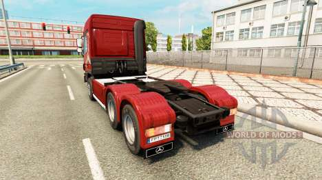 Mercedes-Benz Actros MP3 v2.0 for Euro Truck Simulator 2