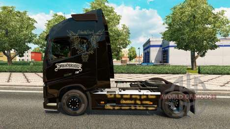 Skin Alter Bridge at Volvo trucks for Euro Truck Simulator 2