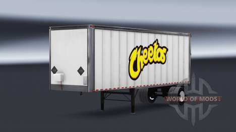 All-metal semi-Cheetos for American Truck Simulator