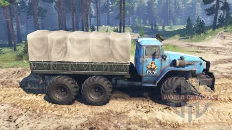 Ural-4320-10 v3.0 for Spin Tires