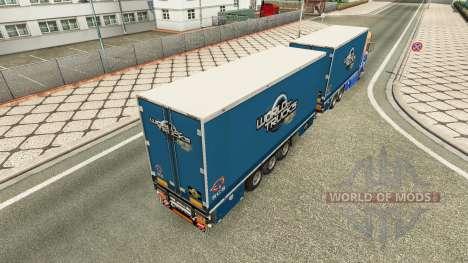 MAN TGS Woodys Express for Euro Truck Simulator 2