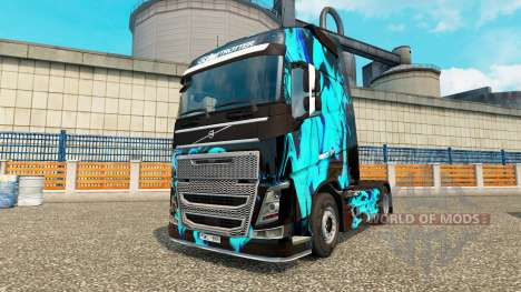 Skin Green Smoke for Volvo truck for Euro Truck Simulator 2