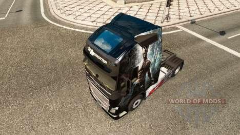 Skin Wolverine for Volvo truck for Euro Truck Simulator 2