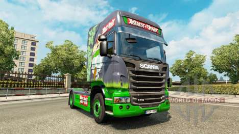 Asterix skin for Scania truck for Euro Truck Simulator 2