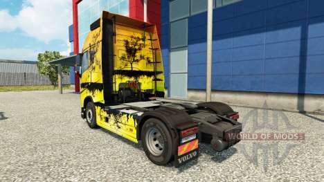 Tree skin for Volvo truck for Euro Truck Simulator 2
