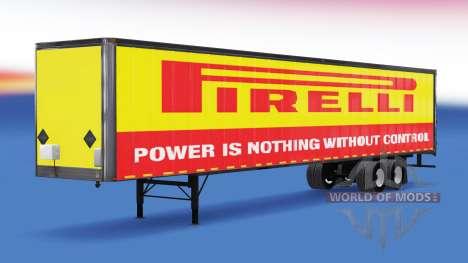 All-metal semi-Pirelli for American Truck Simulator