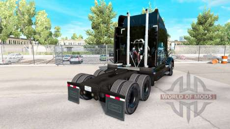 Skin Iron on Skyline truck Peterbilt for American Truck Simulator