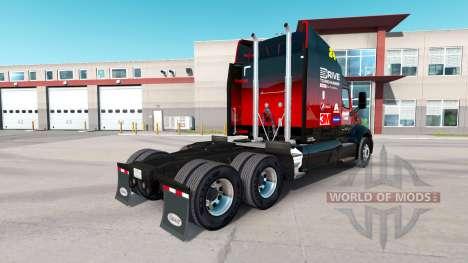 Hendrick skin for the truck Peterbilt for American Truck Simulator