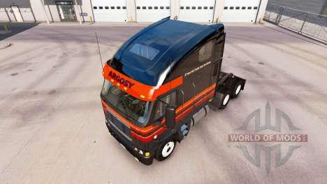 Skin on Outlaw truck Freightliner Argosy for American Truck Simulator