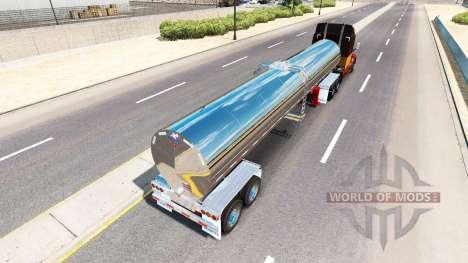 Semi-trailer tanker for American Truck Simulator