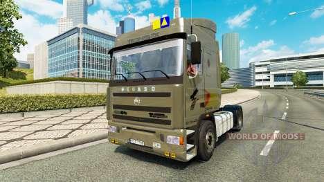 Pegaso Troner TX 400 v2.1 for Euro Truck Simulator 2