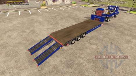 Scania 143h for Farming Simulator 2013