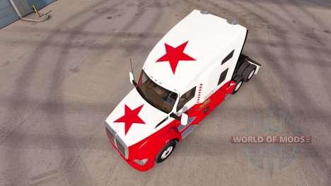 California Republic skin for the Kenworth tracto for American Truck Simulator