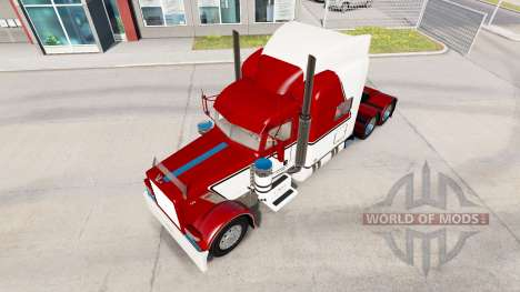 Skin V-Max for the truck Peterbilt 389 for American Truck Simulator