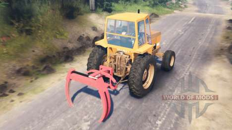 Valmet 502 for Spin Tires
