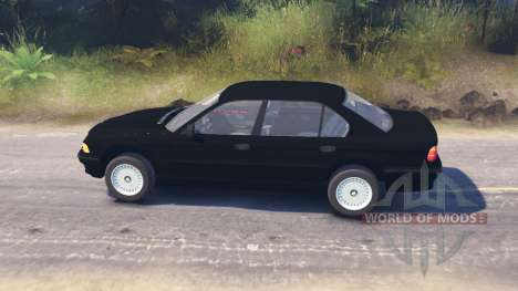BMW 750Li (E38) for Spin Tires