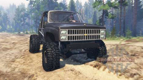 Chevrolet K10 1982 for Spin Tires