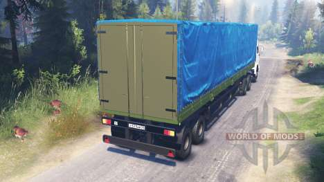 KamAZ-54115 for Spin Tires