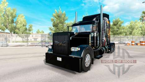Skin The Division for the truck Peterbilt 389 for American Truck Simulator