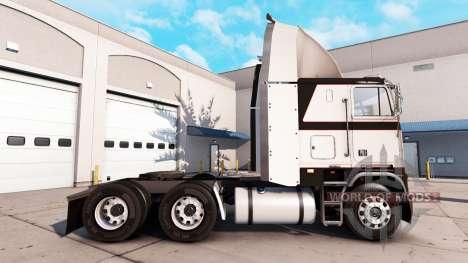 Skin Metallic Gray on the tractor unit Freightli for American Truck Simulator