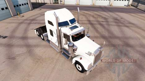 Skin Sons of anarchy on the truck Kenworth W900 for American Truck Simulator