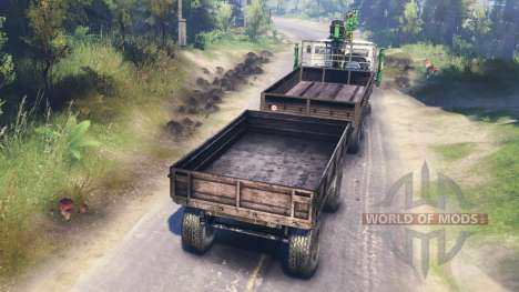 KamAZ-53212 for Spin Tires