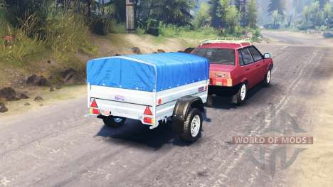 VAZ-21099 for Spin Tires