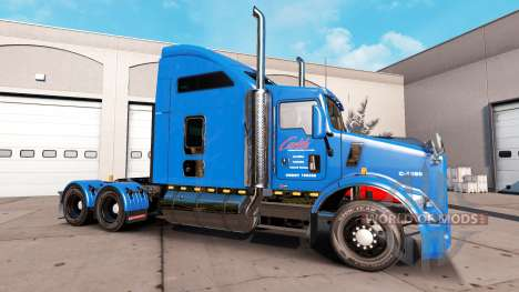 Carlile skin for Kenworth T800 truck for American Truck Simulator