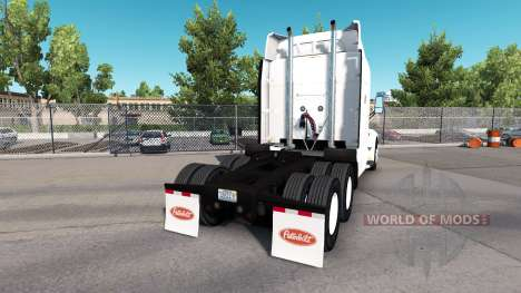 Rusty skin for the truck Peterbilt for American Truck Simulator