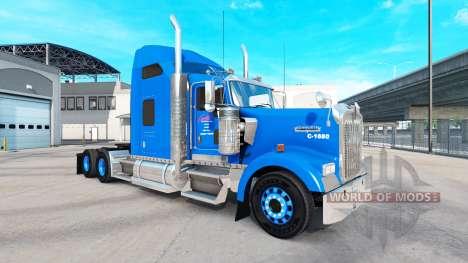 Skin on Carlile Kenworth W900 tractor for American Truck Simulator