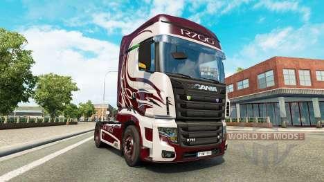 Fantasy skin for Scania R700 truck for Euro Truck Simulator 2