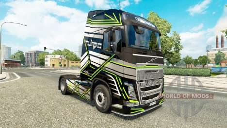 Skin Concept Image for Volvo truck for Euro Truck Simulator 2
