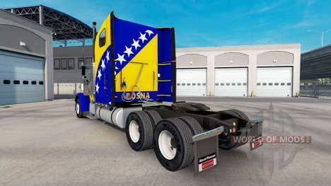 Skin Bosnia on the truck Freightliner Classic XL for American Truck Simulator