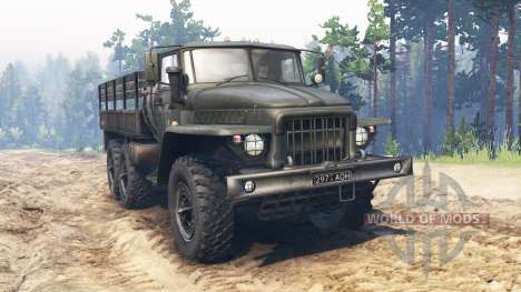 Ural-375 for Spin Tires