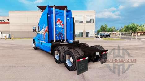 Skin MVT for truck Peterbilt for American Truck Simulator