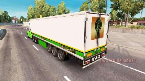 Skin Gold Edition tractor Kenworth for American Truck Simulator
