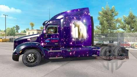 Skin Viking for truck Peterbilt for American Truck Simulator