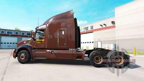 Skin Wegmans on tractors Peterbilt and Kenworth for American Truck Simulator