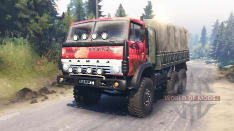 KamAZ-43114 for Spin Tires