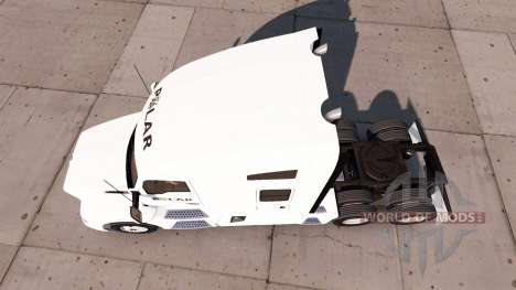 Skin on a Polar Industries truck Kenworth for American Truck Simulator