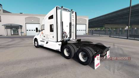 Skin at Daybreak trucks and Peterbilt Kenwort for American Truck Simulator