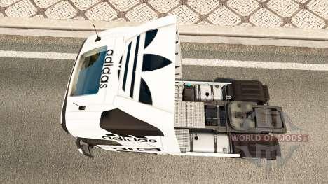 Skin Adidas for Volvo truck for Euro Truck Simulator 2