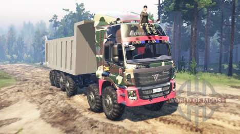 Foton Auman for Spin Tires