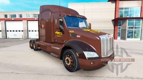 Skin Wegmans on tractors Peterbilt and Kenworth for American Truck Simulator