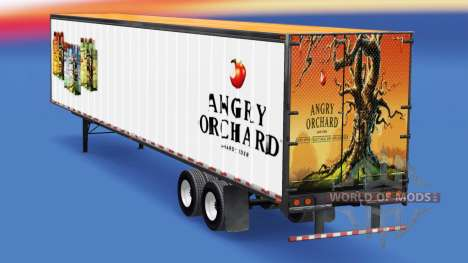 Trailer Angry Orchard for American Truck Simulator