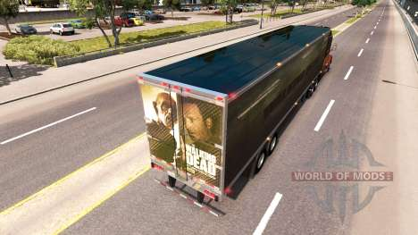 Skin Walking Dead on the trailer for American Truck Simulator